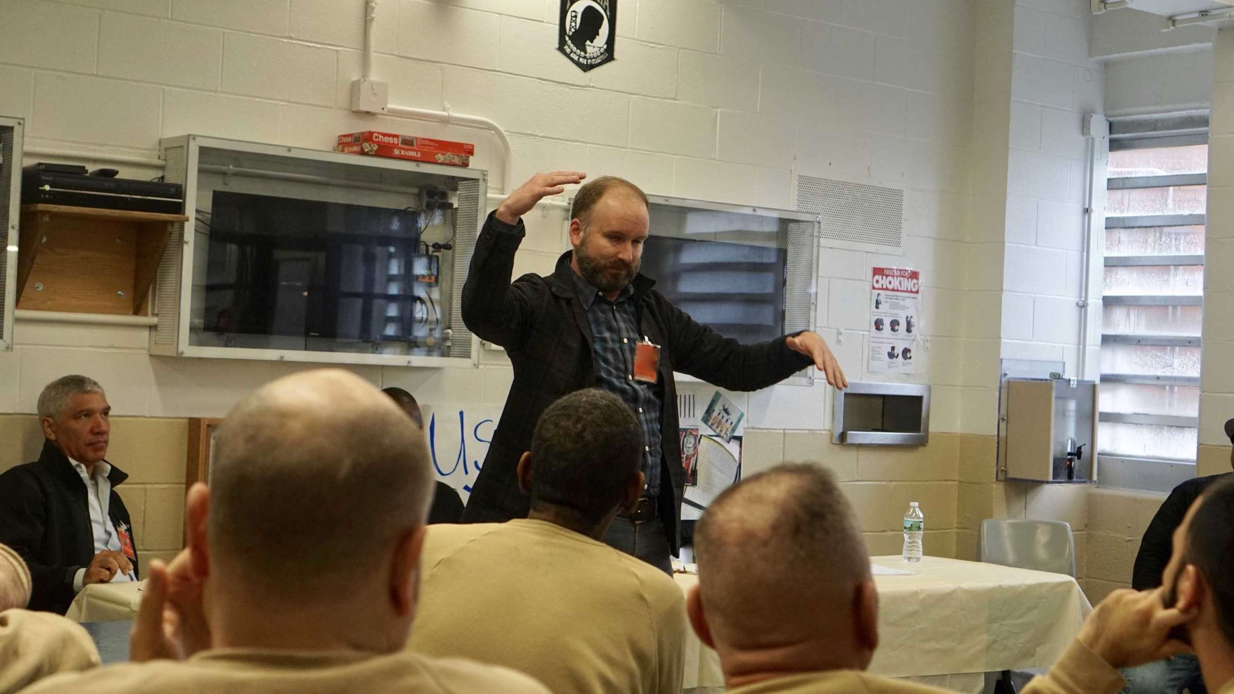 Theater Of War In Rikers Veterans Unit