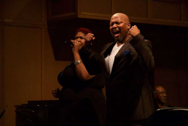 Duane Foster Sings In Antigone In Ferguson