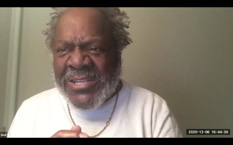 Frankie Faison plays God