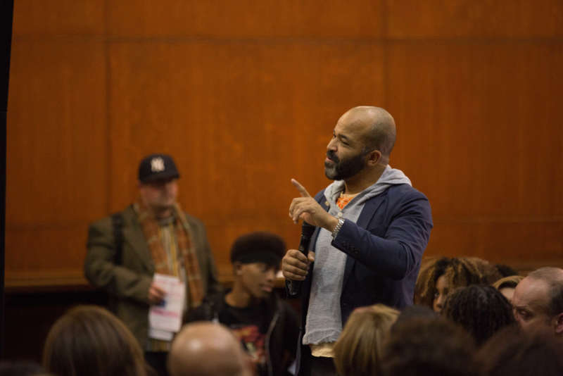 Jeffery Wright Speaks At Hercules In Brooklyn