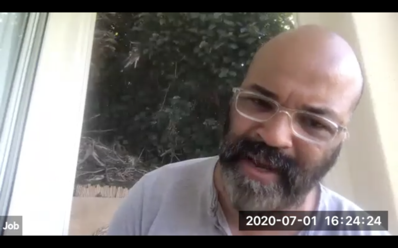 Jeffrey Wright Plays Job