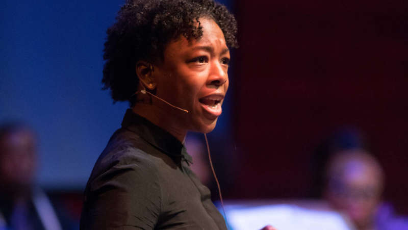 Samira Wiley Antigone In Ferguson