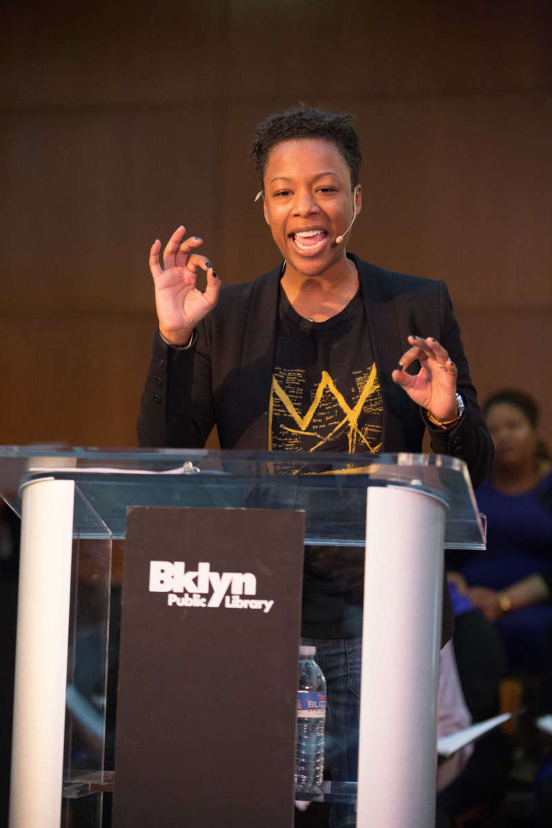 Samira Wiley Delivering Martin Luther Kings The Drum Major Instinct