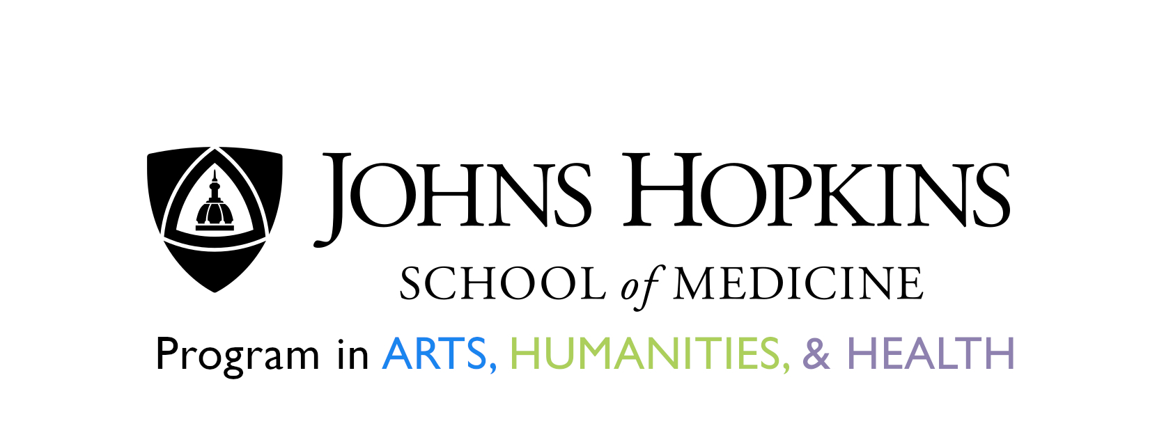 JHU Arts, Humanities, and Health Logo