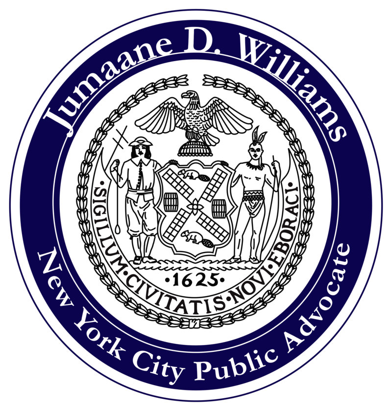 The Office of The Public Advocate, NYC,  Jumaane Williams Logo